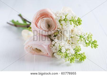 Delicate Festive Wedding Bouquet