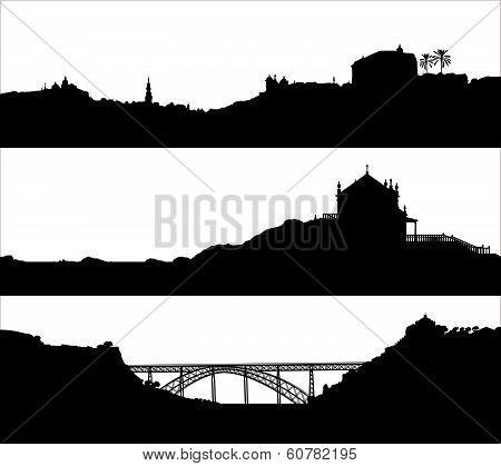 Landscape of Porto. Portugal