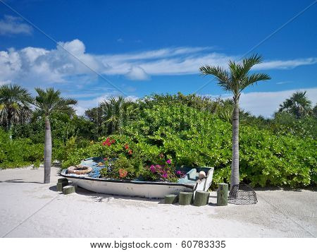Creative Landscaping in a Boat