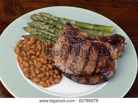 Thick Pork Chops.