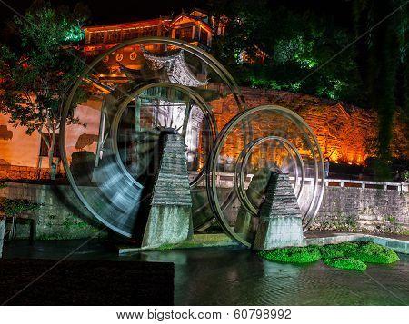Mill In Lijiang