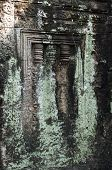 Detail Of Window, Preah Khan, Cambodia