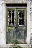 Weathered Door, Corfu, Greece poster