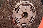 stock photo of clutch  - Automobile clutch part - JPG