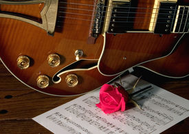 pic of ibanez  - classic ibanez style guitare with love - JPG