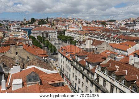 Rossio ( Dom Pedro Iv ) Square, Lisbon