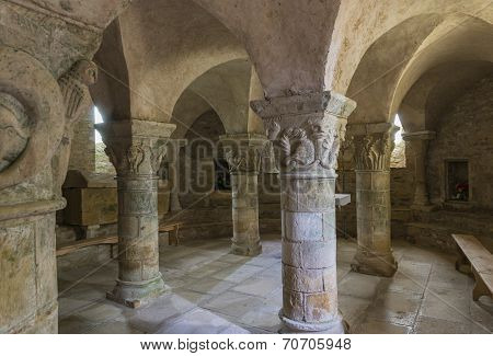 Crypt Of Church Parise Le Chatel