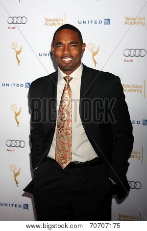 LOS ANGELES - AUG 23:  Jason George at the Television Academy's Perfomers Nominee Reception at Pacific Design Center on August 23, 2014 in West Hollywood, CA