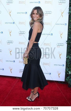 LOS ANGELES - AUG 23:  Renee Bargh at the Television Academy's Perfomers Nominee Reception at Pacific Design Center on August 23, 2014 in West Hollywood, CA