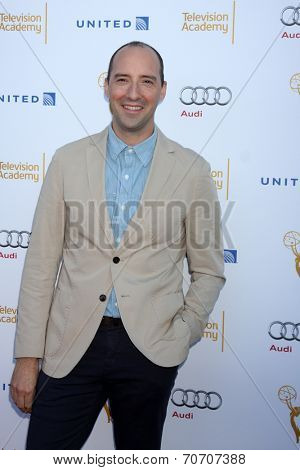 LOS ANGELES - AUG 23:  Tony Hale at the Television Academy's Perfomers Nominee Reception at Pacific Design Center on August 23, 2014 in West Hollywood, CA