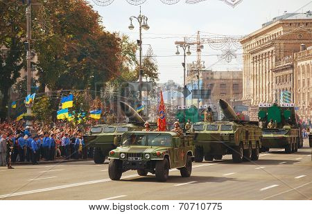 Air Defense Missile Systems In Kyiv, Ukraine
