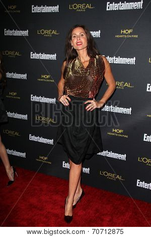 LOS ANGELES - AUG 23:  Minnie Driver at the 2014 Entertainment Weekly Pre-Emmy Party at Fig & Olive on August 23, 2014 in West Hollywood, CA