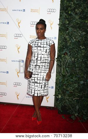 LOS ANGELES - AUG 23:  Uzo Aduba at the Television Academy's Perfomers Nominee Reception at Pacific Design Center on August 23, 2014 in West Hollywood, CA