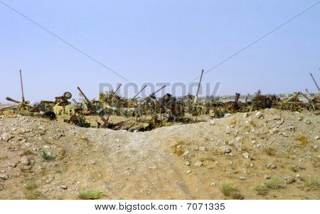 Iraqi Armor Graveyard
