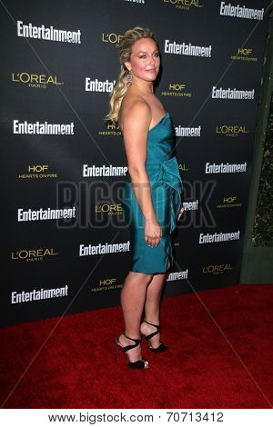 LOS ANGELES - AUG 23:  Elisabeth Rohm at the 2014 Entertainment Weekly Pre-Emmy Party at Fig & Olive on August 23, 2014 in West Hollywood, CA