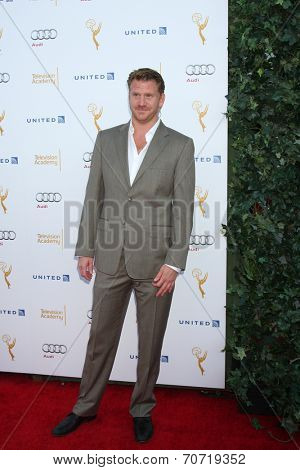 LOS ANGELES - AUG 23:  Dash Mihok at the Television Academy's Perfomers Nominee Reception at Pacific Design Center on August 23, 2014 in West Hollywood, CA