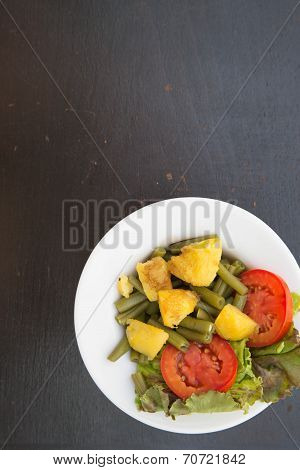 A Plate Of French String Beans