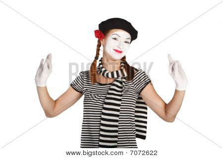 Mime Comedian