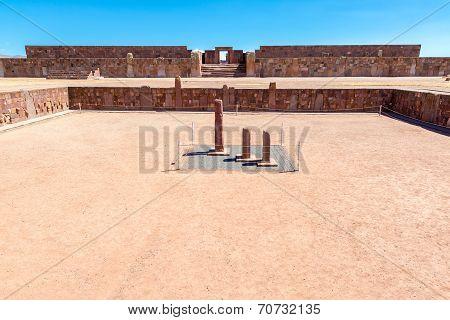 Tiwanaku Semi Subterranean Temple
