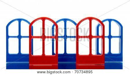 Five Door Frames