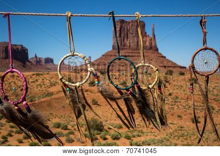 Native Dreamcatchers at Monument Valley