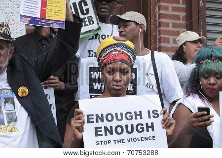 Standing where Eric Garner died