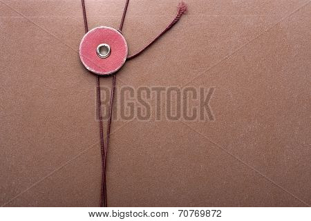 Brown File Cover