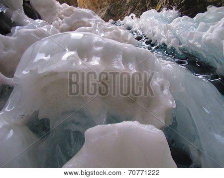 Frozen Falls Detail
