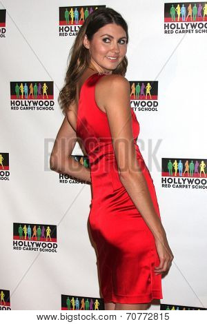 LOS ANGELES - AUG 23:  Jama Leigh at the Hollywood Red Carpet School at Secret Rose Theater on August 23, 2014 in Los Angeles, CA