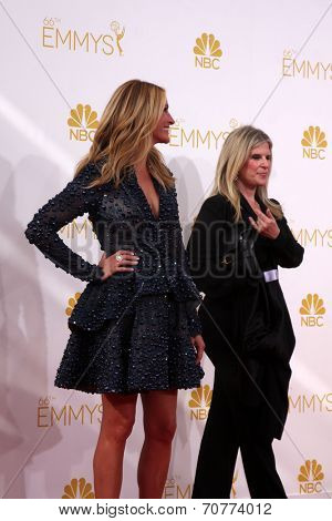 LOS ANGELES - AUG 25:  Julia Roberts at the 2014 Primetime Emmy Awards - Arrivals at Nokia Theater at LA Live on August 25, 2014 in Los Angeles, CA