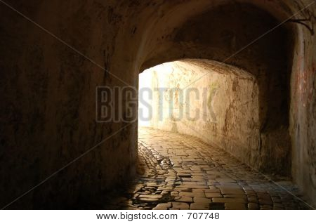 ancient tunnel