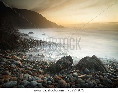 Campelo Beach At Sunset