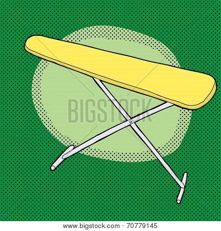 Yellow Ironing Board
