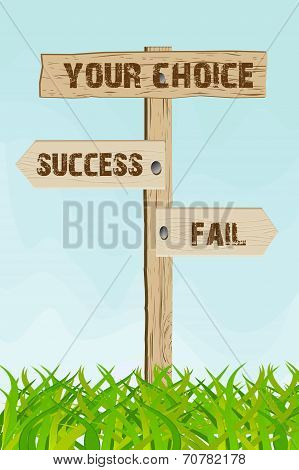 Success Or Fail Choice