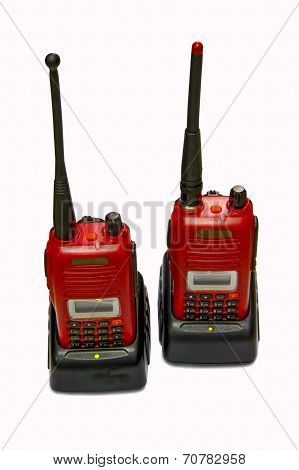 Red Radio Transceiver