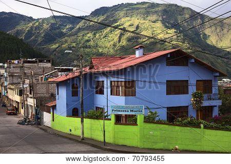 Hostal Residencia Princesa Maria in Banos, Ecuador