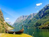 stock photo of old boat  - Tourism and travel - JPG
