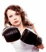 foto of martial arts girl  - Martial arts - JPG