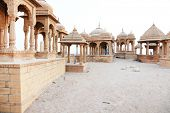 picture of crematory  - Bada Bagh Cenotaph in Jaisalmer - JPG