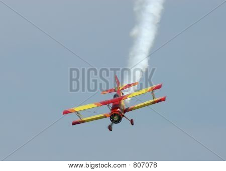 Biplane Diving