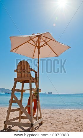 Beach Security Chair