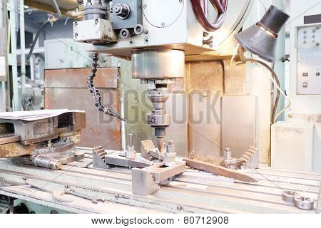 image of a drill press