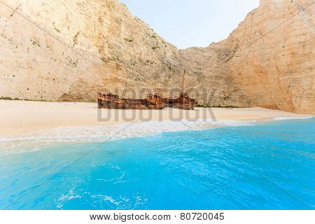 Landscape Of Shipwreck Beach