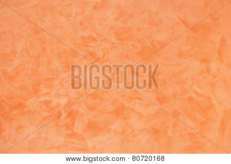 Orange Effect Painted Wall Texture Background
