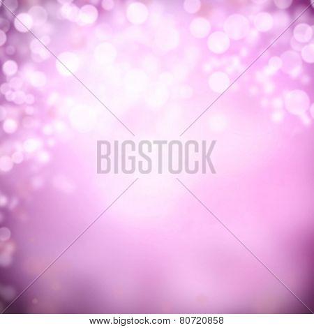 Abstract blurry background with spot lights