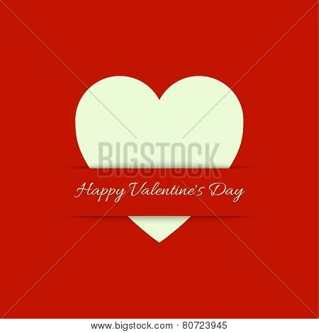 Abstract background with red  heart.