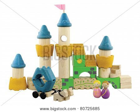 Imagination Wooden Blocks Colorful Toy
