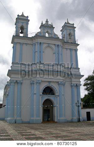 San Cristobal Mexico, church