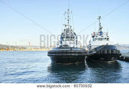 Two Tug Boat