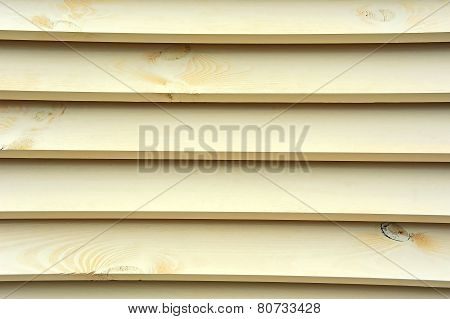 Wooden background from plank